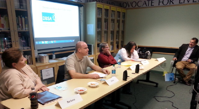 Depression Community Education Panelists
